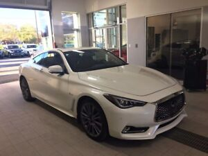 2017 Infiniti Q60 Coupe 3.0t Red Sport 400HP + FREINS BREMBO + G