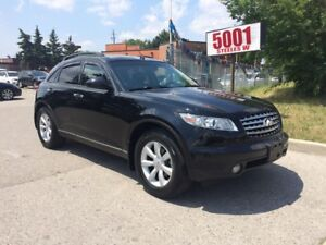 2005 Infiniti FX35 157K,$7888.SAFETY+3YEARS WARRANTY INCLUDED