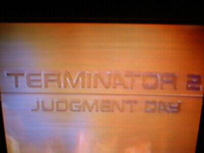 Prerecorded VHS tape (sold as used blank) Terminator 2 Judgement Day