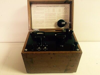 Vintage Leeds And Northrup Potentiometer