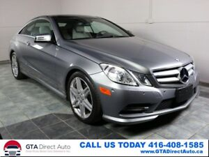 2013 Mercedes-Benz E-Class E350 Coupe 4Matic NAV PANO Camera P1