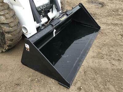 New Tomahawk 72 Smooth Gp Bucket Skid Steer Loader Ssl Quick Attach