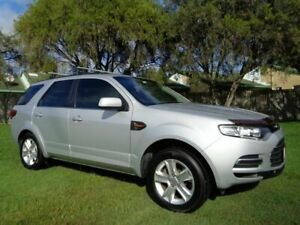 2013 Ford Territory SZ TS Seq Sport Shift Silver 6 Speed Sports Automatic Wagon Kippa-ring Redcliffe Area Preview