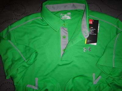 86324612 UNDER ARMOUR GOLF HEAT GEAR POLO SHIRT SIZE M MEN NWT $$$$