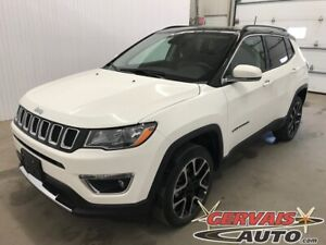 2018 Jeep Compass Limited 4x4 GPS Cuir Toit Panoramique MAGS