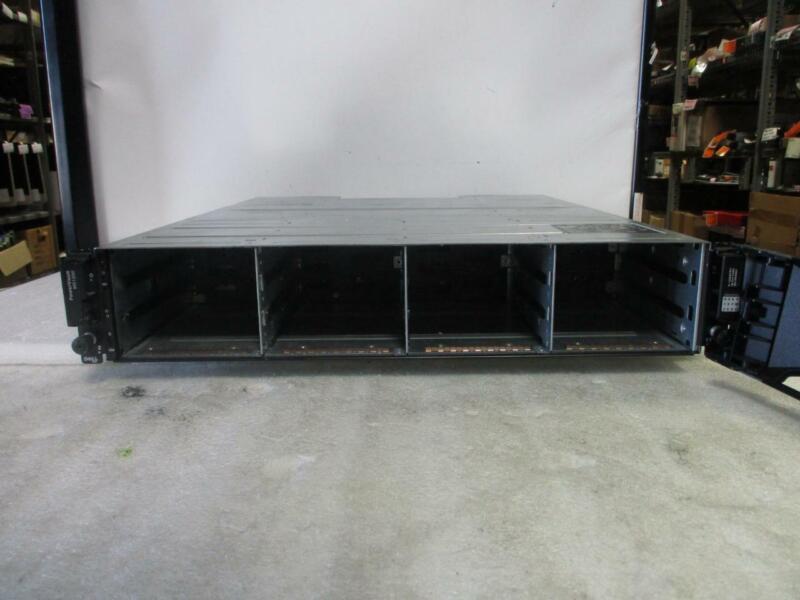 Dell PowerVault MD1200 12-Bay Storage Array/ 2XController 3DJRJ / 2x PSU (B86)