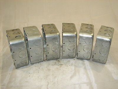 C-h 78618910-564 4 58 Electrical Outlet Box 2 18 Deep Lot Of 6 Xlnt