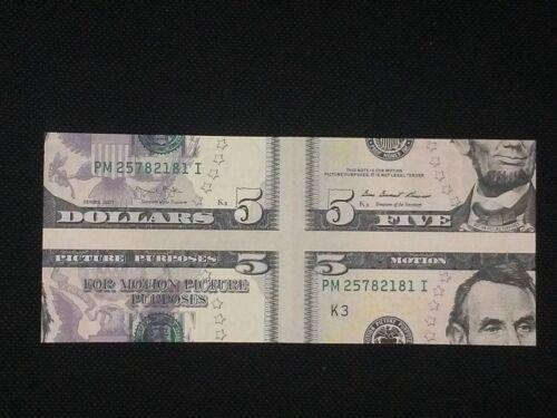 MisMade $5.00 Bill