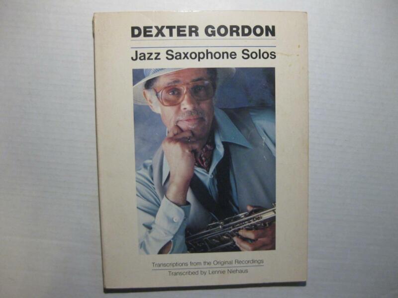 Dexter Gordon Jazz Saxophone Solos Songbook 1979 Almo Publications