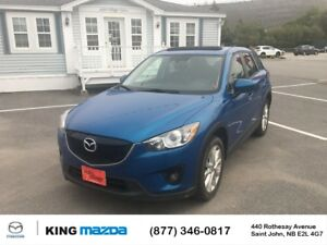 2014 Mazda CX-5 GT ONE OWNER..LEATHER..ALL WHEEL DRIVE..MOONROOF