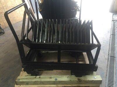 Letterpress Chase Roll Cart Heavy Duty