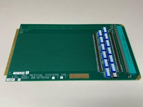 GE OEC-9800 Extender Board 879248, Appears Unused in Static Shielding Bag