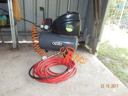 Air Compressor Ozito 2.5hp 24L. Still under warranty