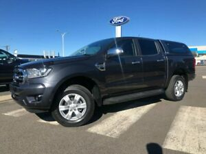 2019 Ford Ranger PX MkIII 2019.00MY XLT Grey 6 Speed Manual Double Cab Pick Up Kilmore Mitchell Area Preview