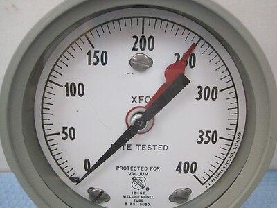 6003 Ashcroft 1246p Pressure Gauge 400 Psi 3 Face New
