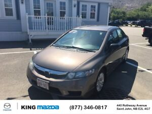 2009 Honda Civic Sdn DX-G- $134 B/W