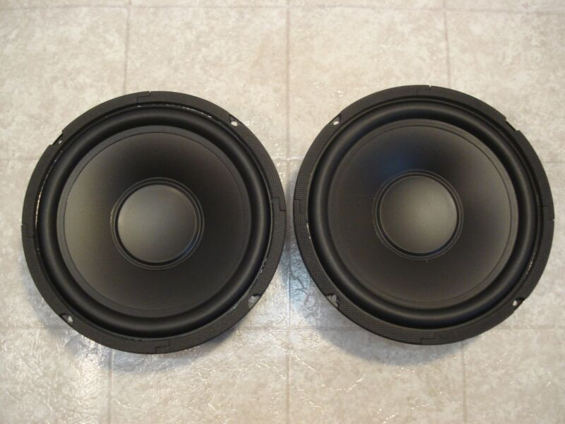 "NEW (2) 8"" SubWoofer Speakers.8ohm PAIR.Home Audio.eight inch.Sub Woofer.Bass"