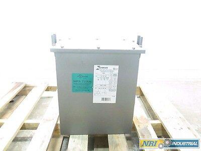 HAMMOND P009KBKF HPS TITAN 9KVA 3PH 480V 208/120V VOLTAGE TRANSFORMER D508133