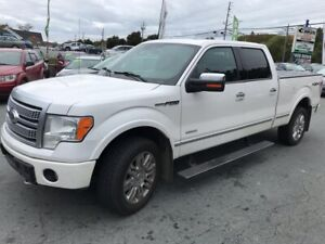 2012 Ford F-150 PLATINUM   Selling for $5000 below  Book Value
