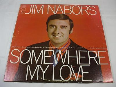 Jim Nabors    Somewhere My Love   Kh 30398   Excellent Condition