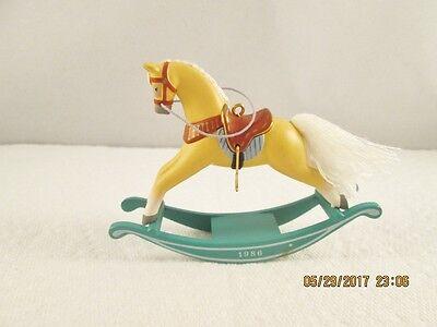 Hallmark Rocking Horse 1986 Keepsake Xmas Ornament #6