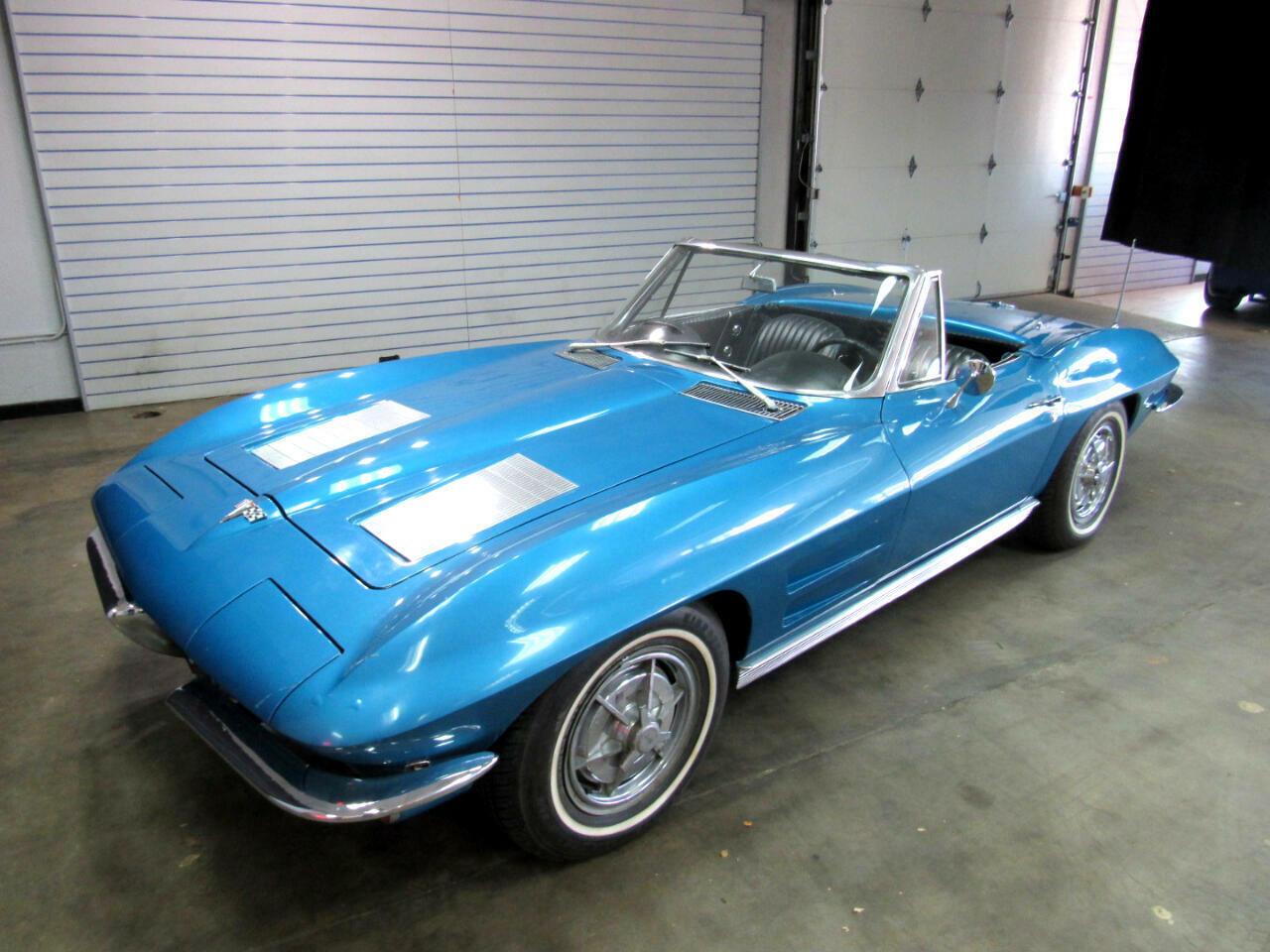 1963 Blue Chevrolet Corvette   | C2 Corvette Photo 1