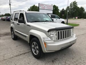 2008 Jeep Liberty Sport *4X4* INQUIRE TODAY!