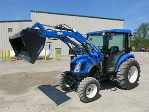 MINT-2011-NEW-HOLLAND-3040-BOOMER-TRACTOR-WITH-CAB-LOADER-4x4-27-HOURS-Wow