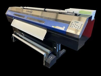 Roland Xc-540 Soljet Pro Iii Sign Maker Large Format Printer Sold As Is