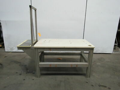 50x29x35h Laminate Top Aluminum 8020 Machine Base Work Bench Table