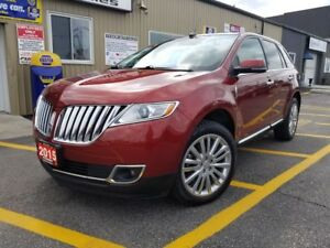 2015 Lincoln MKX NAVIGATION-PAN ROOF-REAR CAMERA-FACTORY WARRANT