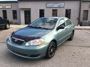 2005 Toyota Corolla CERTIFIED,NO ACCIDENTS,ALLOY RIMS !