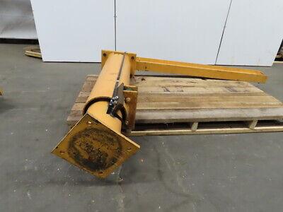 Abell Howe 12 Ton 72 Span 54 Under Beam Free Standing Machine Mount Jib Crane