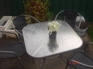Garden Table and four chairs Mowbray Launceston Area Preview