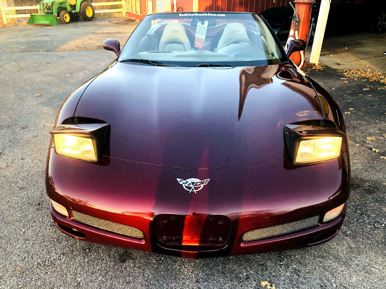 2003 Burgundy Chevrolet Corvette Convertible  | C5 Corvette Photo 7