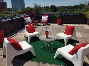 Roof Top Patio - 2 Bedroom South End!