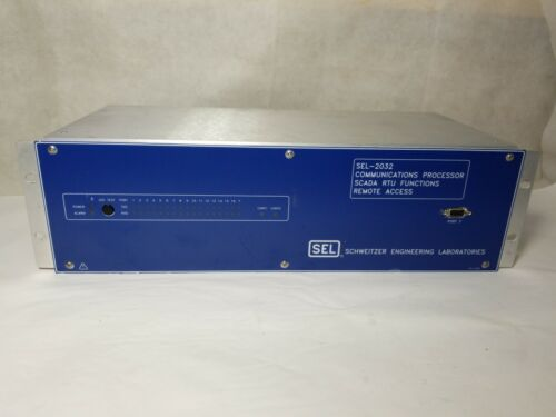 Schweitzer Engineering SEL-2032 Communications Processor Relay SEL2032 SCADA RTU