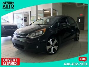 2014 Kia Rio SX HATCHBACK / AUTOMATIQUE / CUIR / BACK UP CAM /