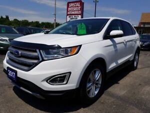 2017 Ford Edge SEL CLEAN CAR PROOF !!  ONE OWNER !!  ONTARIO...