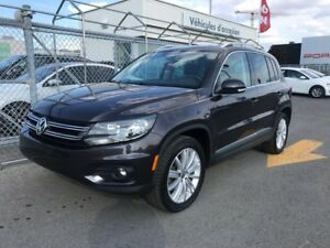 2016 Volkswagen Tiguan Highline 4x4 Nav - Leather - Sunroof