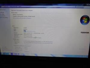 toshiba i3 C650 Satellite laptop Amaroo Gungahlin Area Preview