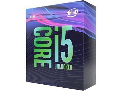 Intel Core i5-9600K Coffee Lake 6-Core 3.7 GHz (4.6 GHz Turbo) Desktop Processor