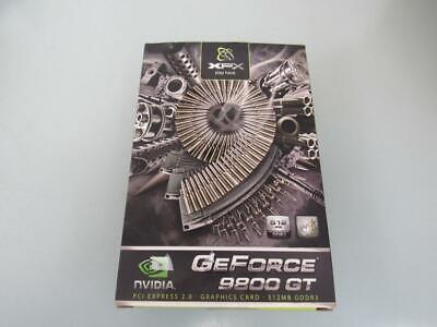 XFX GeForce 9800 GT 512MB 256-bit DDR3 PCIe 2.0 x16 Graphics Card PV-T98G-YD ()