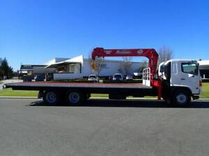 Hino 12 Tonne Crane Truck Welshpool Canning Area Preview