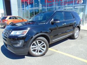 2016 Ford Explorer Limited awd 36000KM CUIR NAVIGATION MAGS 20