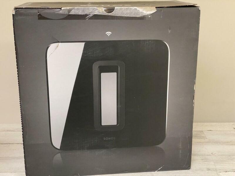 Sonos SUB Wireless Subwoofer Gloss Black GEN 3 IN BOX