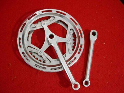 Classic Left Hand Crank Arm Chrome 4 1//2 inch Cottered type new old stock