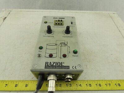 Raziol Els2000 Controller Unit For Lubricator Spray