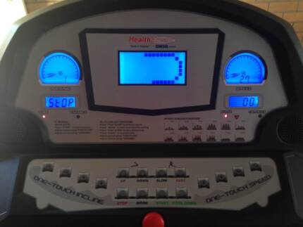 HEALTHSTREAM 3650T 2.5HP TREADMILL - URGENT SALE - MOVING HOUSE Dingley Village Kingston Area Preview