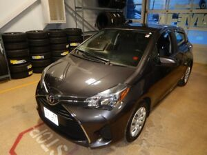 2015 Toyota Yaris LE One owner